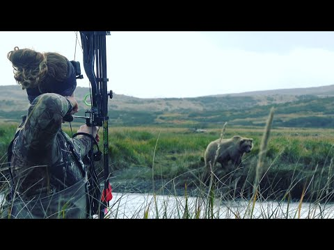 Woman Hunts Alaskan Brown Bear With Bow –  Stuck N the Rut 133