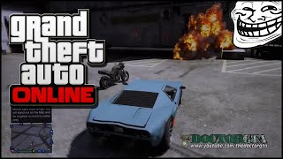 """GTA 5 Ignition Bomb Trolling"" Part 1 [60 FPS 1080P]"