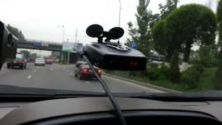 SHO-ME STR-525 обнаружил треногу КРИС-П в Алматы