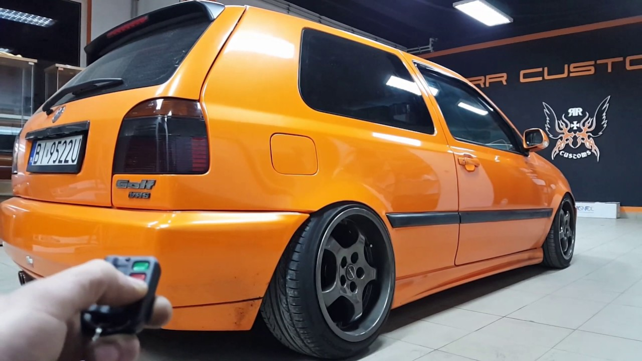custom vw golf iii air ride stanced by rr customs youtube. Black Bedroom Furniture Sets. Home Design Ideas