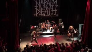 Download Napalm Death - The code is red... Long live the code - 10.04.17, Kyiv MP3 song and Music Video