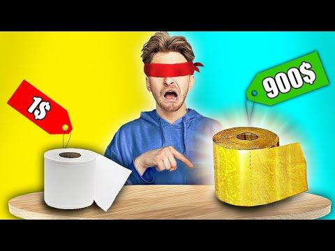 ОТГАДЫВАЮ ДЕШЕВЫЕ vs ДОРОГИЕ продукты...**ЭТО ШОК**