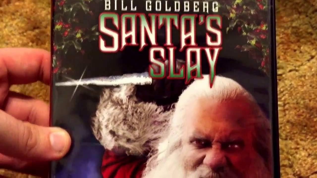Download Santa's Slay staring Bill Goldberg DVD Unboxing!