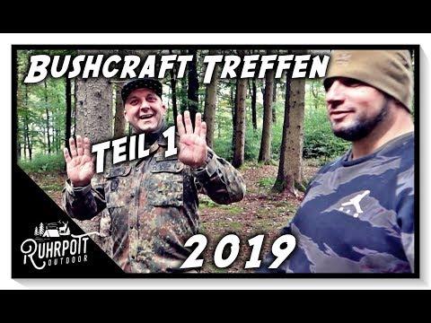 Bushcraft Treffen im Sauerland 2019 - Teil 1