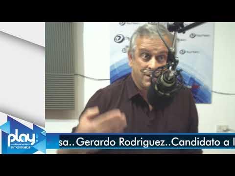 Gerardo Rodriguez ..en Los Estudios de Play Fm