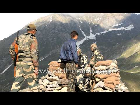 Indian security forces on top alert during Amarnath Yatra in Kashmir