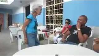 Hot danch 80 years old woman