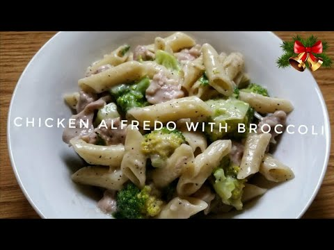 HOW TO COOK CHICKEN ALFREDO WITH BROCCOLI