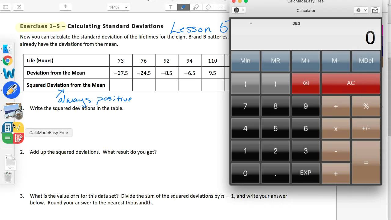 Algebra 1 EngageNY Module 2 Topic b Lesson 5