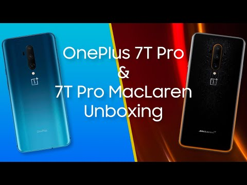 OnePlus 7T Pro + McLaren Edition Unboxing - Fast and Faster