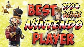 Fortnite Best Nintendo Switch Player 970+ Wins (New Crackshot and Crackabella Skins!)