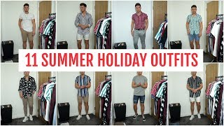 Gambar cover 11 Easy Men's Summer Holiday Outfits | Men's Summer Outfit Idea's 2019