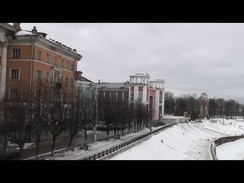 Тверь зимой под музыку Михаила Круга.