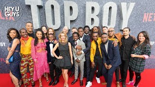 Top Boy Premiere - Drake, Ashley Walters & the cast and crew talk up the iconic show's big return