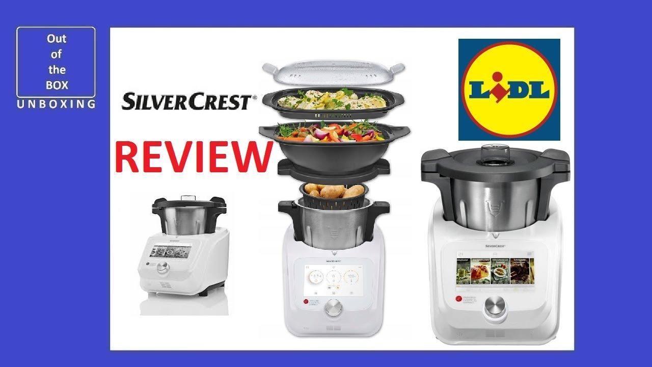 Silvercrest Monsieur Cuisine Connect Skmc 1200 B2 Review Lidl 10
