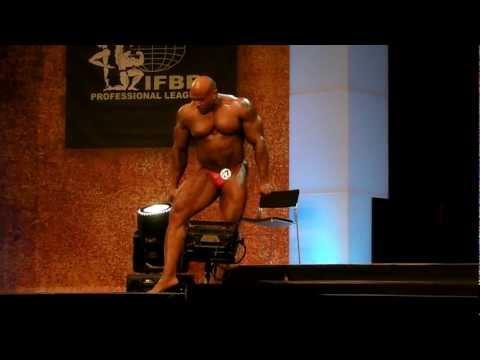 Fauzi Hanst -  Competitor No 17 - Prejudging - FIBO Power Pro Championships 2012