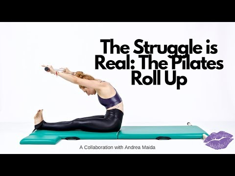 The Struggle is Real: Roll Up on the Mat | Online Pilates Classes