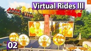 Funktionen und Emotionen ► Virtual Rides #2 Fahrgeschäft Simulator Gameplay PREVIEW