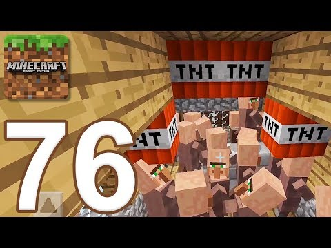 Minecraft: Pocket Edition - Gameplay Walkthrough Part 76 - Survival (iOS, Android)