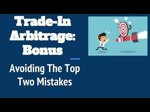 Amazon trade-in arbitrage: Avoiding the top 2 mistakes