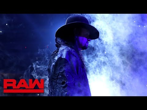 """The Undertaker is Shane McMahon and Drew McIntyre's """"Reaper"""" : Raw, July 1, 2019"""