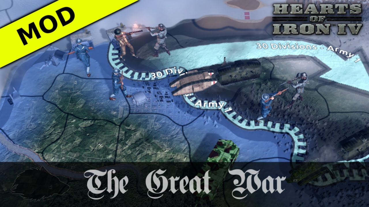 Hearts of Iron IV: The Great War - Open Beta Trailer