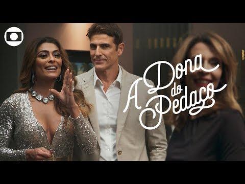 A Dona do Pedaço: capítulo 32 terça 25 de junho na Globo
