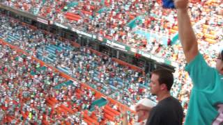 Miami Dolphins - the song after touchdown