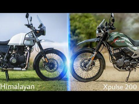 HERO XPULSE 200 VS HIMALAYAN | HIMALAYAN VS XPULSE | RICH INDIA MOTO