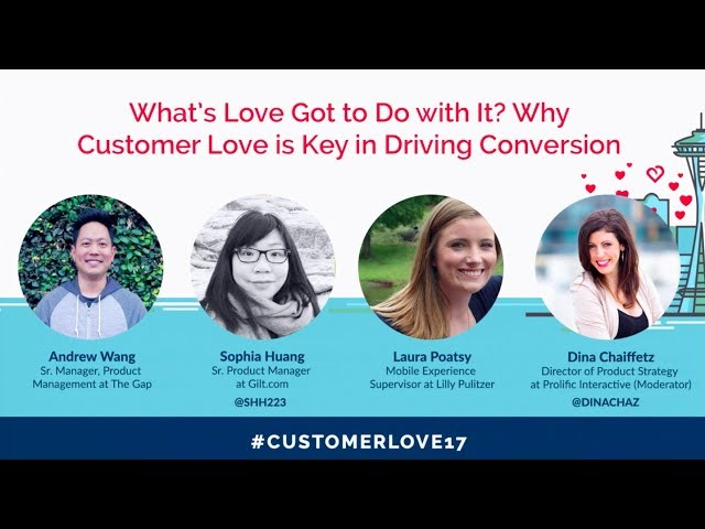 Post for video 'Why Customer Love is Key in Driving Conversion
