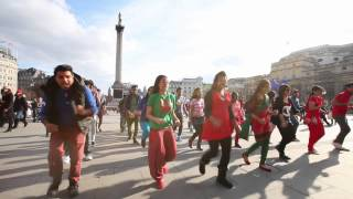 ICC World T20 Flash Mob, London 2014 (Bangla Tigers London)
