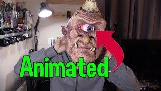 Animated Halloween Mask using Your Freaking Phone !
