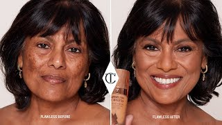 How To Cover Hyperpigmentation Using Airbrush Flawless Foundation   Charlotte Tilbury