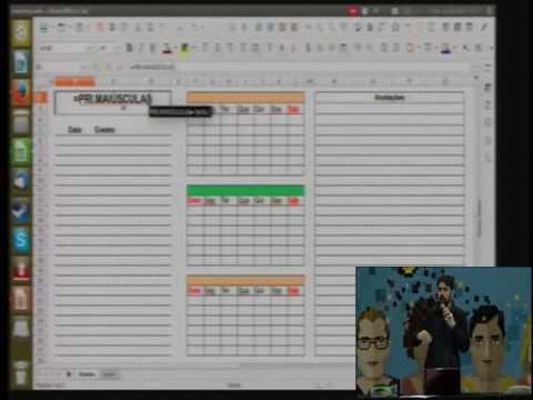 Fisl 17 - LibreOffice Calc Avançado