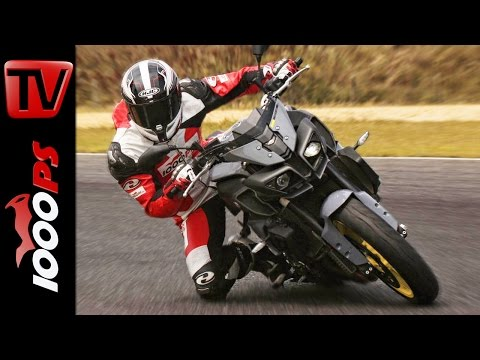 Yamaha MT-10 Test Rennstrecke 2016   Positiv - Negativ   Nakedbike mit R1 Motor Foto