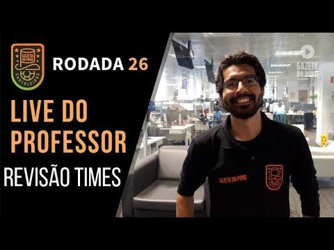 LIVE DICAS 26ª RODADA | CARTOLA FC 2018: REVISÃO