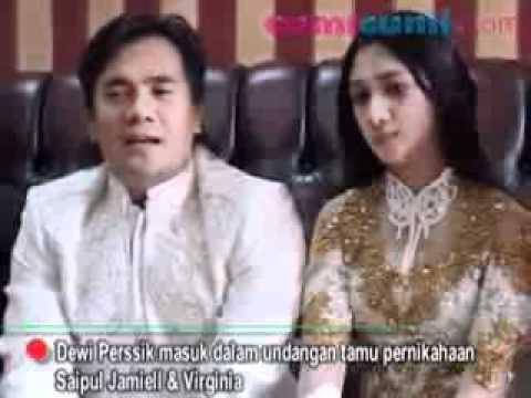 Saipul Jamiell Undang Dewi Perssik Hadiri Pernikahan   CumiCumi com