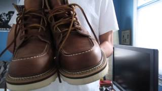 Latest pick up: Got my wings! Redwing 1907 Review