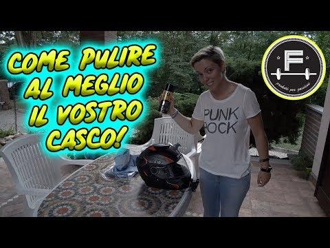 COME PULIRE OGNI CASCO ! PRODOTTI PER PASSIONI TEST