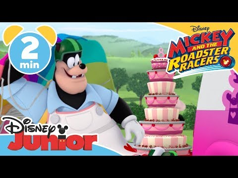 Mickey and the Roadster Racers  The Birthday Cake Chase!  Disney Junior UK