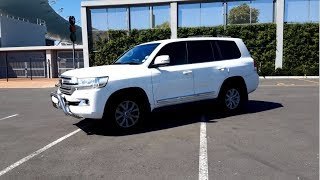 2018 Toyota Land Cruiser 200 4.5L V8 Twin Turbo Diesel Overview | First Voice Over