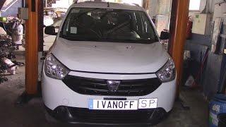 Dacia lodgy Мотор K9K  Замена турбины, замена масла сброс сервисных интервалов