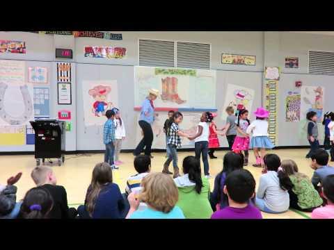 Square Dance - Parmer Lane Elementary 3/11/2015