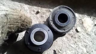 замена сайлентблоков рулевых тяг ланос