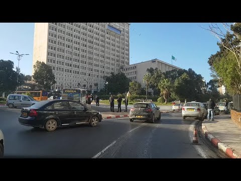 Driving in oran Algérie 27 02 2019 وهران الجزائر