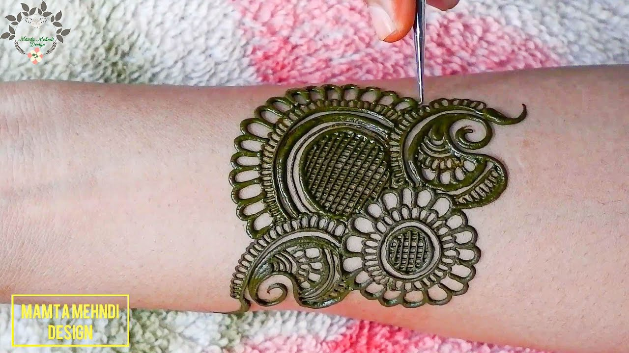 New *रक्षाबंधन* Mehndi Design For Hands 2020   Front Hand Mehndi Design   Latest Mehndi Designs