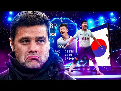 THE BEST SONALDO CARD?! 89 TEAM OF THE KNOCKOUT STAGE SON PLAYER REVIEW! FIFA 19 Ultimate Team