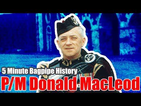 P/M Donald MacLeod - Bagpipe History - Vlog 2.020