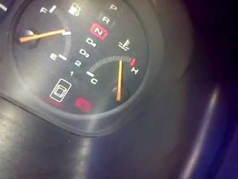 1999 Honda Accord Coupe LX-V6 | Temp guage or what? | Doovi