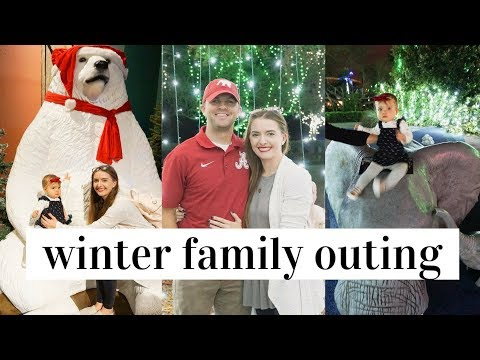 NIGHT AT THE ZOO | ZOO LIGHTS MIAMI | DAY IN THE LIFE WITH A BABY